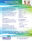Long-Term Care & Memory Care- Flyer