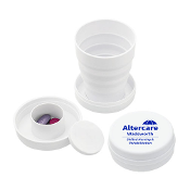 3 1/2 oz Collapsible Cup w/Pillbox
