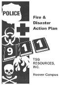 Fire & Diaster Action Plan - Booklets