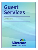 Guest Services Booklet - Cover & Tabs