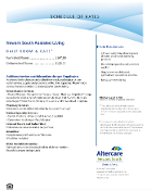 Rate Sheet - Newark South Assisted Living
