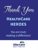 HealthCare Hero - Thank You - Easel